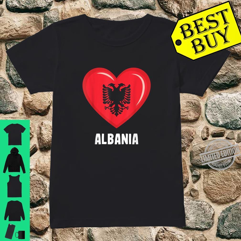 Albania Flag Shirt Albanian Shirt ladies tee