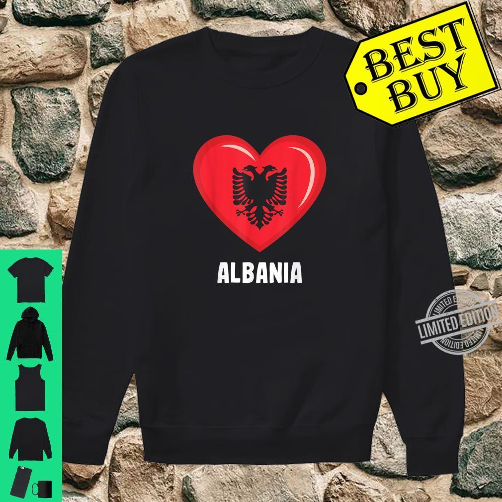 Albania Flag Shirt Albanian Shirt sweater