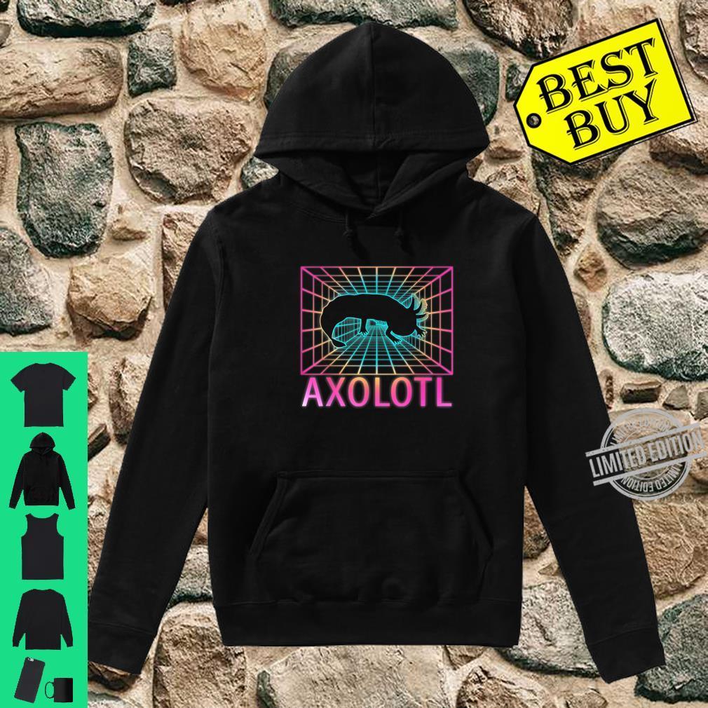 Axolotl Shirt hoodie
