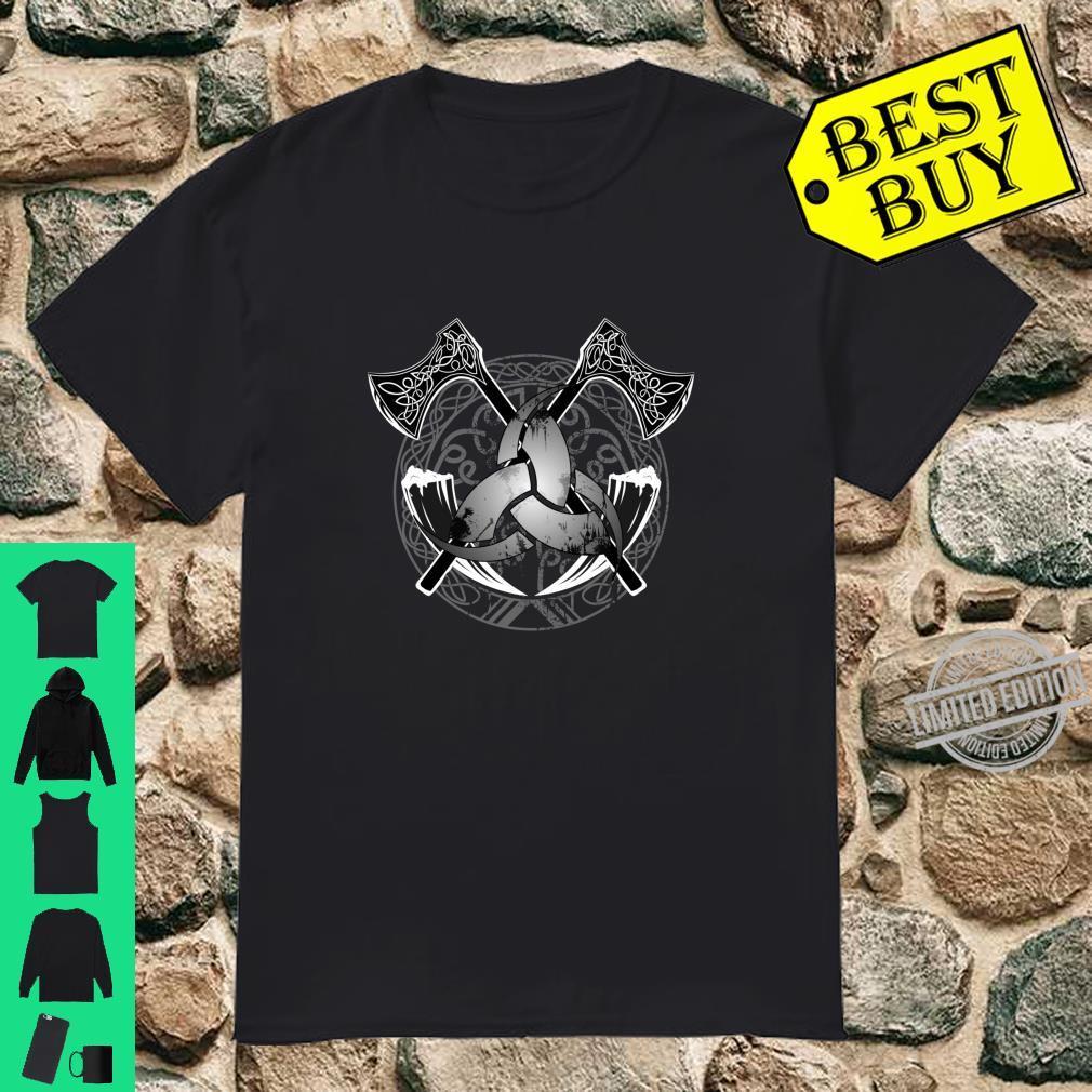 Badass Viking themed, Nordic Symbol, knotwork Shirt
