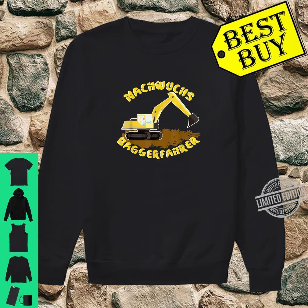 Bagger Fahrzeuge Jungs Männer Shirt sweater