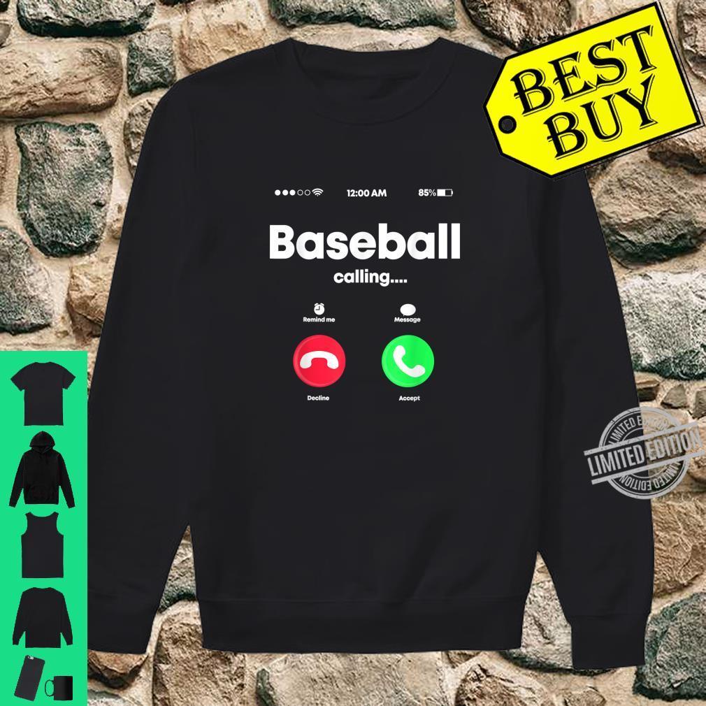 Baseball Calling Phone Cool Softball USA Sports Player Shirt sweater