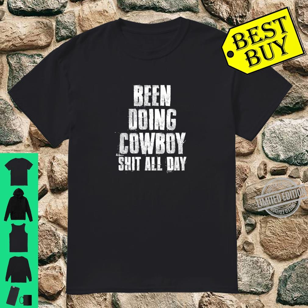 Been Doing Cowboy, Western Cowgirl Shirt