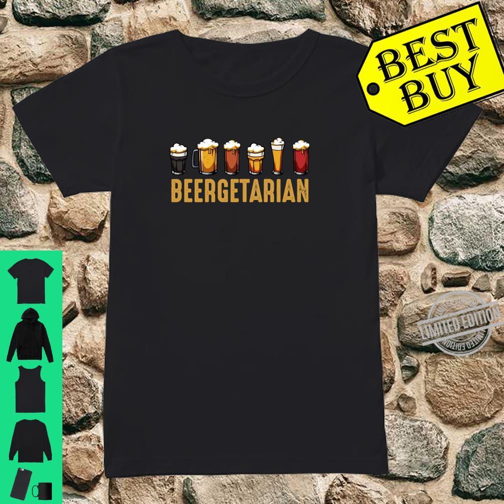 Beergetarian Biertrinker Ideales Geschenk Lustiger Spruch Shirt ladies tee