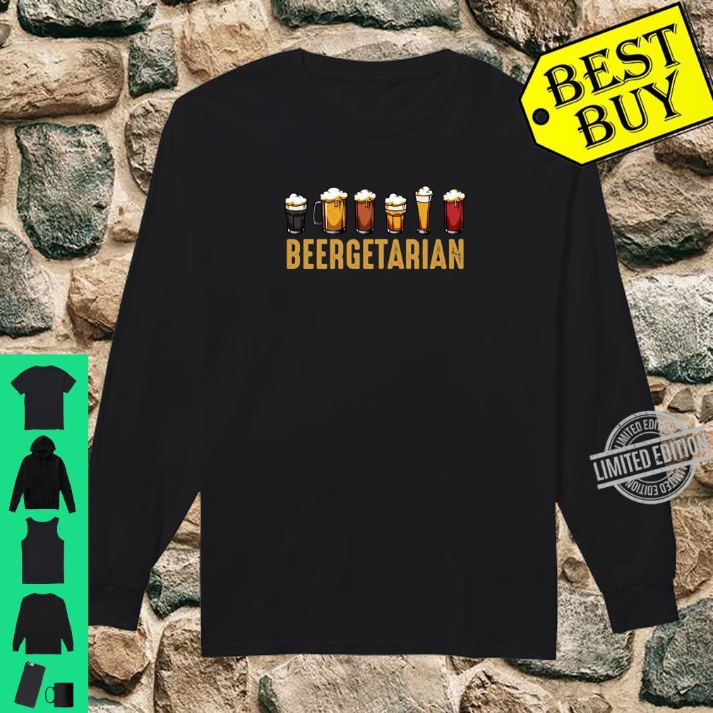 Beergetarian Biertrinker Ideales Geschenk Lustiger Spruch Shirt long sleeved