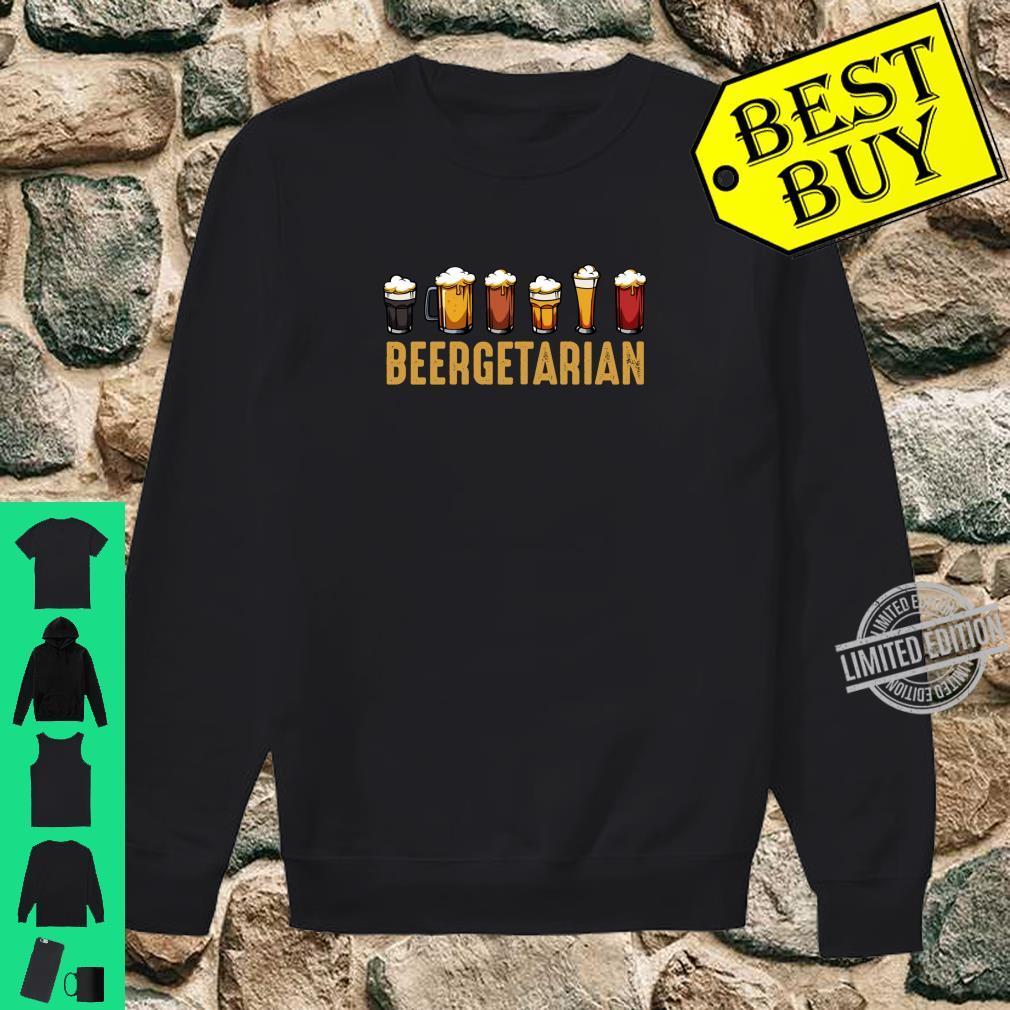 Beergetarian Biertrinker Ideales Geschenk Lustiger Spruch Shirt sweater
