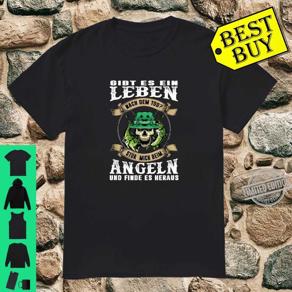 Beim Angeln Stören Lustiges Geschenk Für Hobby Angler Shirt
