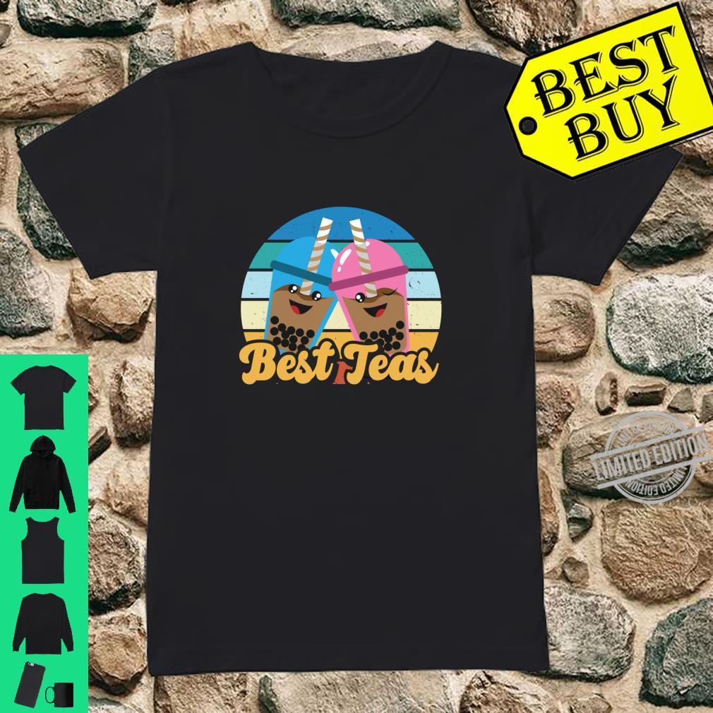 Bes Teas Kawaii Boda Drinks Pun Best Teas Shirt ladies tee