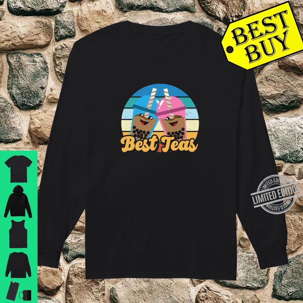 Bes Teas Kawaii Boda Drinks Pun Best Teas Shirt long sleeved