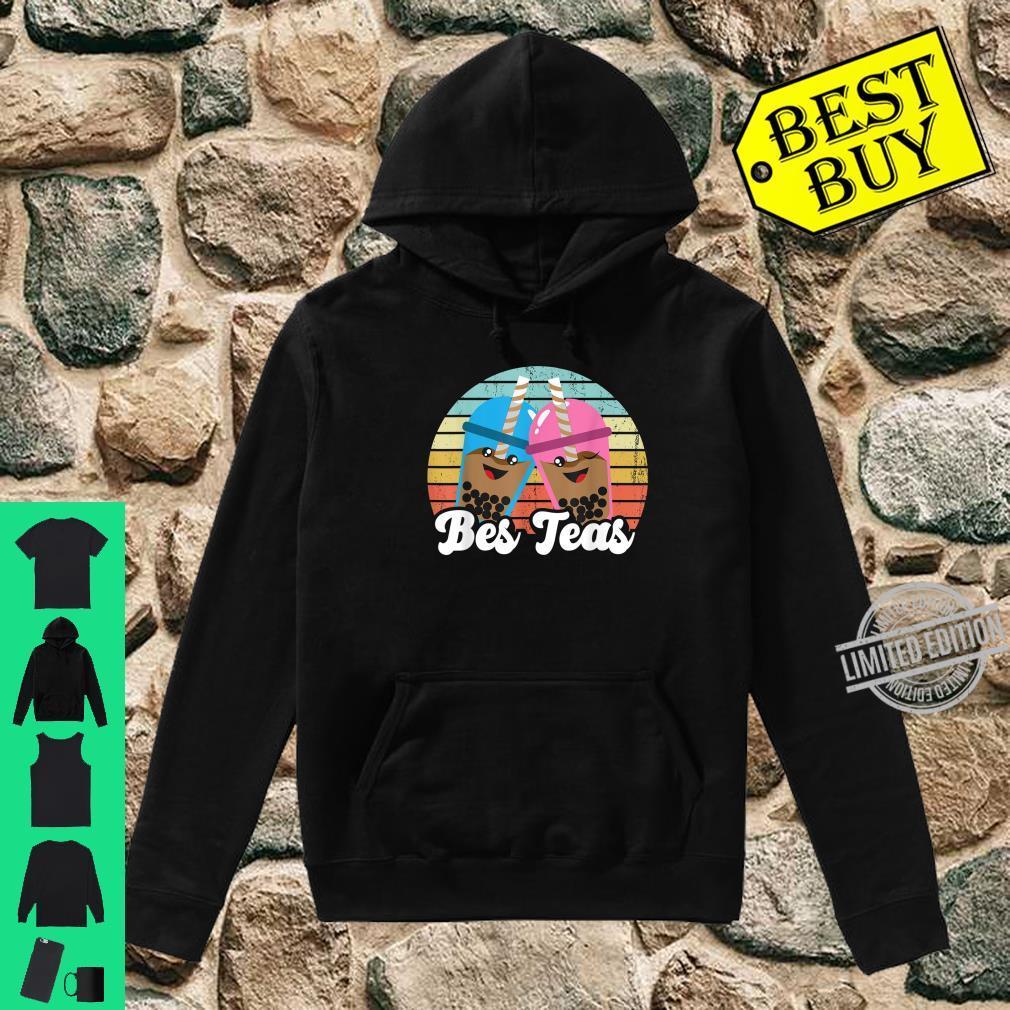 Bes Teas Pun Kawaii Boda Drinks Best Teas Best Friends Shirt hoodie