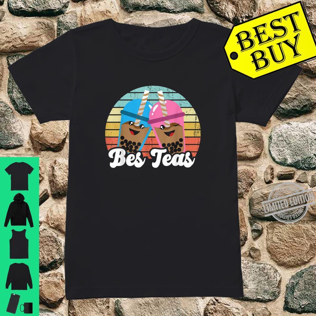 Bes Teas Pun Kawaii Boda Drinks Best Teas Best Friends Shirt ladies tee