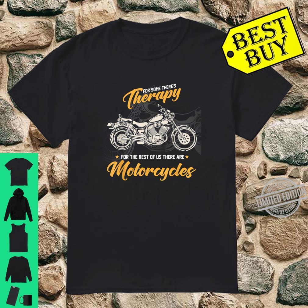 Biker und Motorradfahrer Geschenk Motorradfans & Bikerinnen Shirt