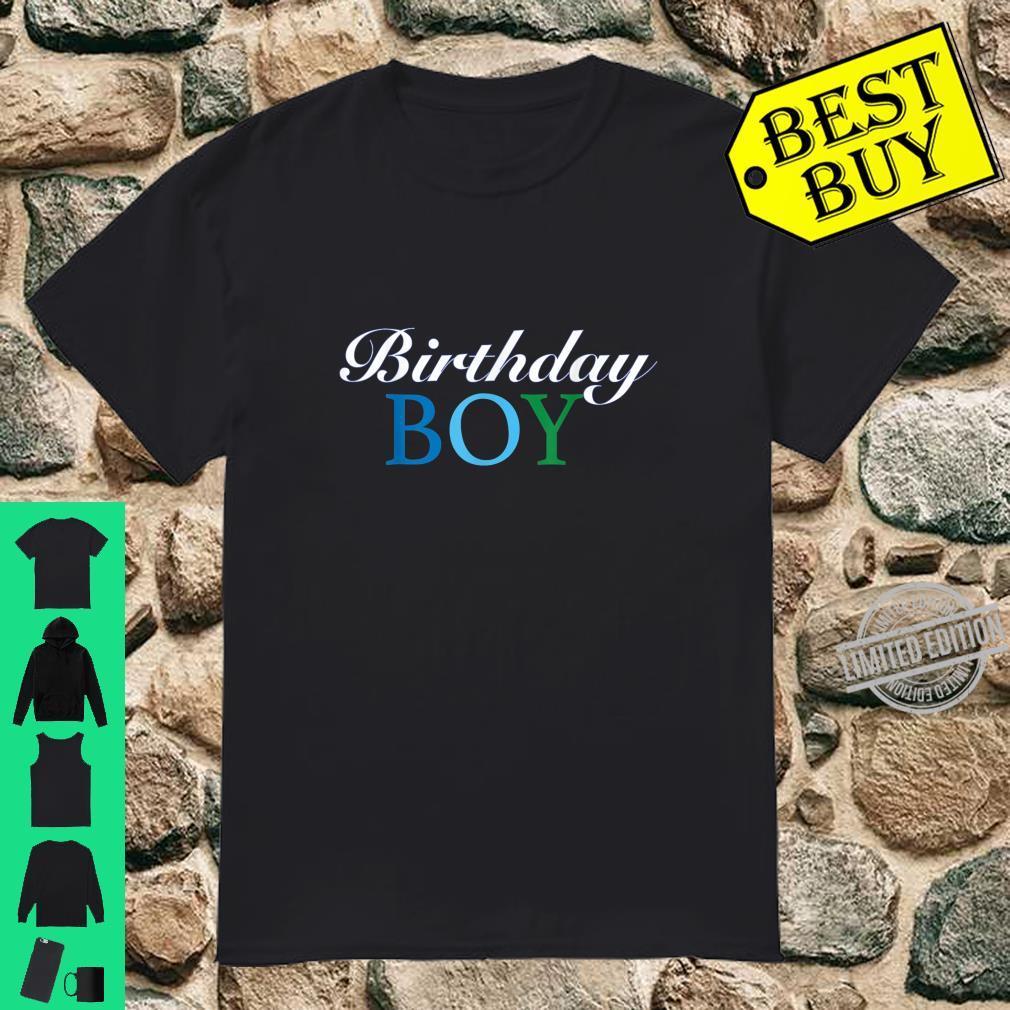 Birthday Boy Toddler Shirt