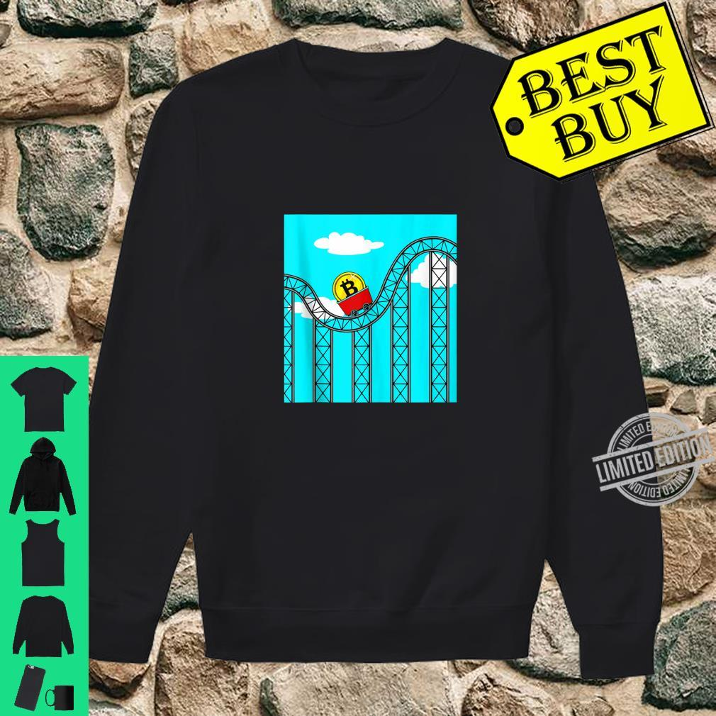 Bitcoin Roller Coaster Ride Theme Park Trader Miner Investor Shirt sweater