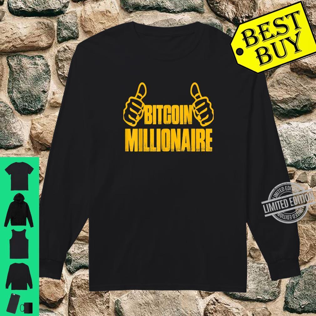 Bitcoin lustiges EthereumGeschenk KryptoHändler Shirt long sleeved
