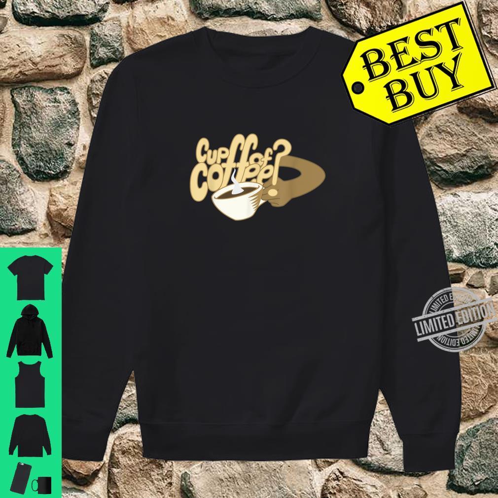 Cartoon Cup of Coffee and mug art Shirt sweater