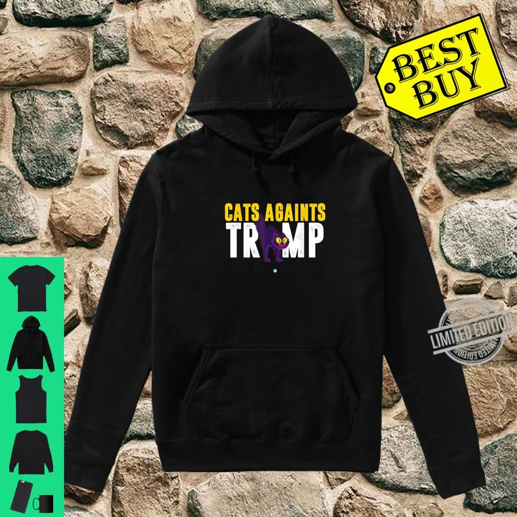 Cats Against Trump Anti Trump Shirt hoodie