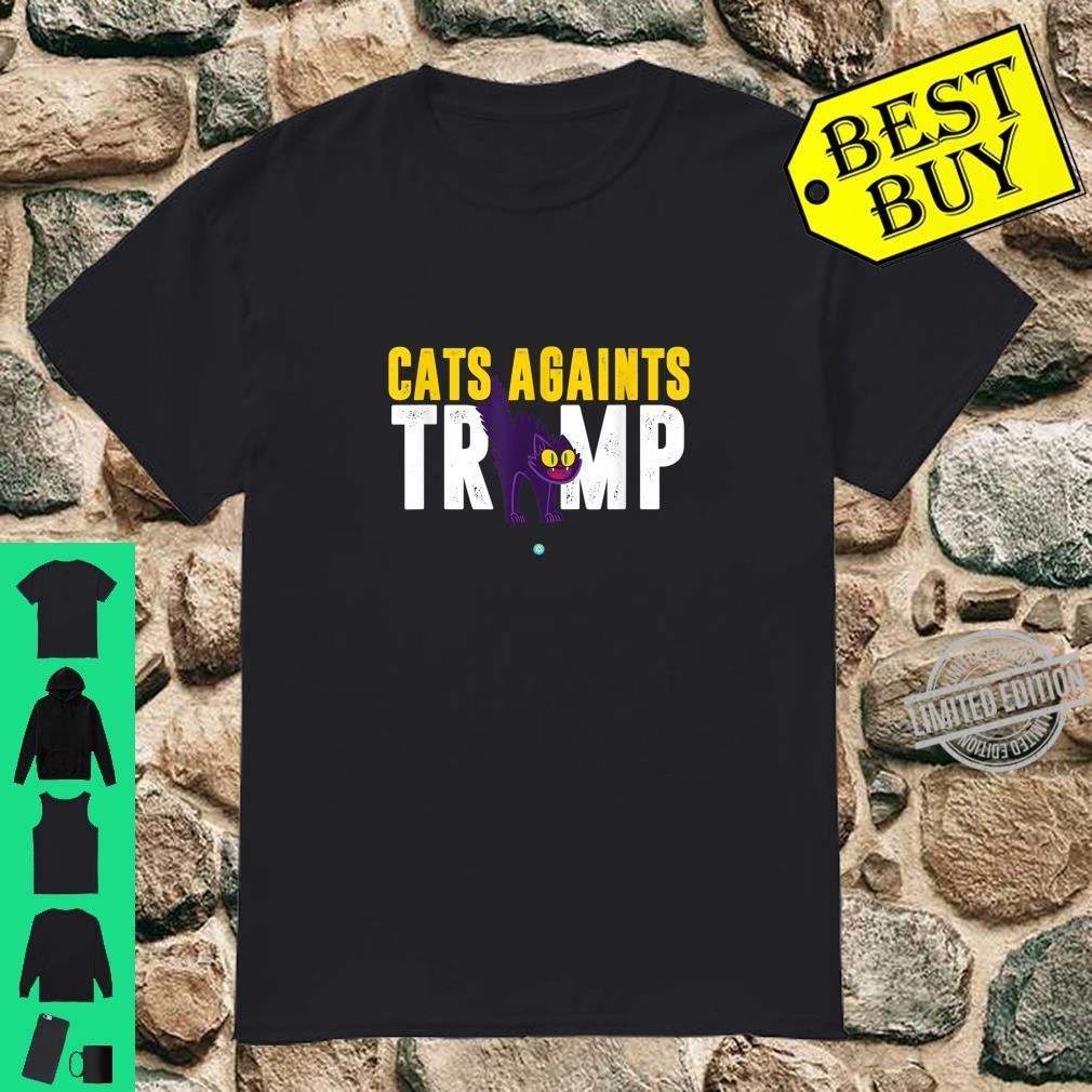 Cats Against Trump Anti Trump Shirt