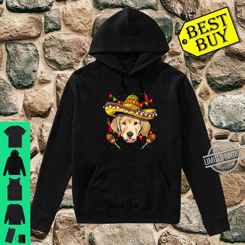 Cinco de Mayo Labrador Retriever Sombrero Shirt hoodie
