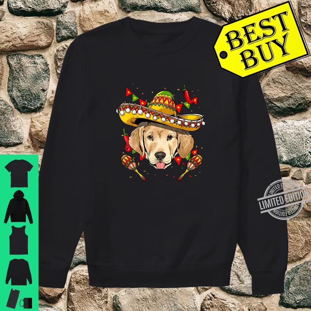 Cinco de Mayo Labrador Retriever Sombrero Shirt sweater