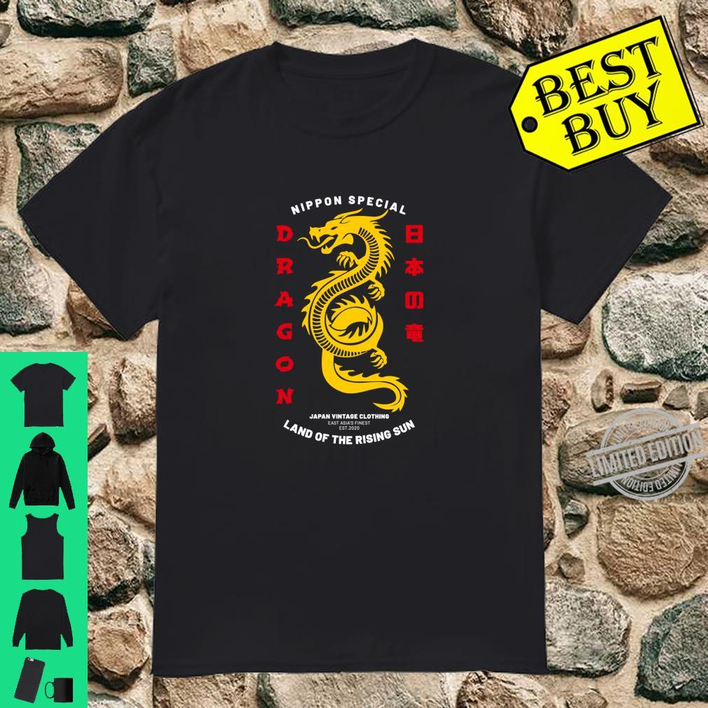 Cool Traditional Japanese Dragon Shirt