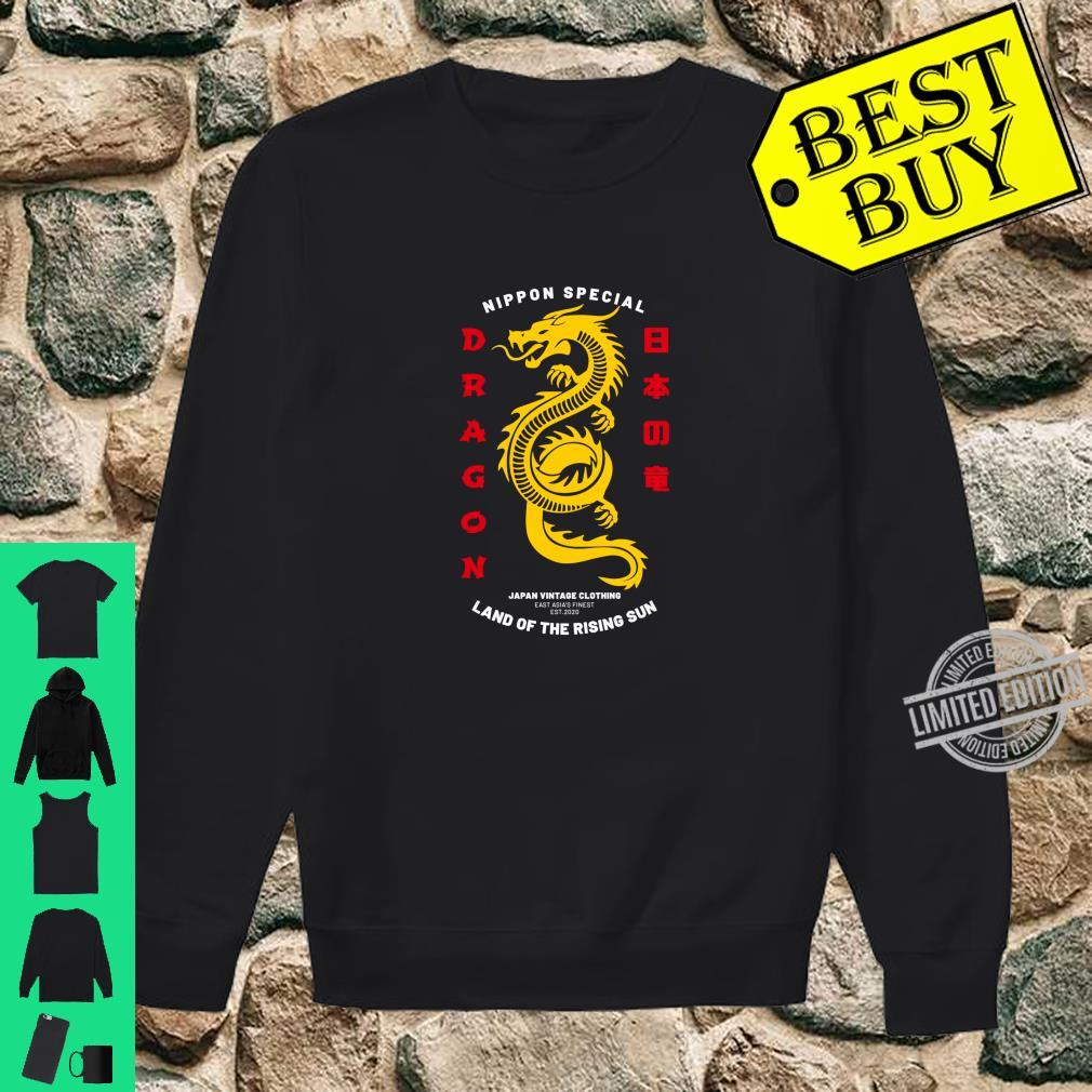 Cool Traditional Japanese Dragon Shirt sweater