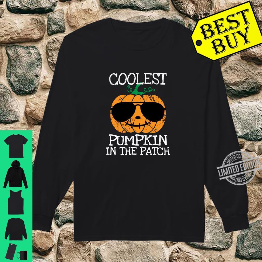 Halloween Kostume Jungs.Coolster Kurbis Im Patch Halloween Kostum Jungen Madchen Langarmshirt Shirt