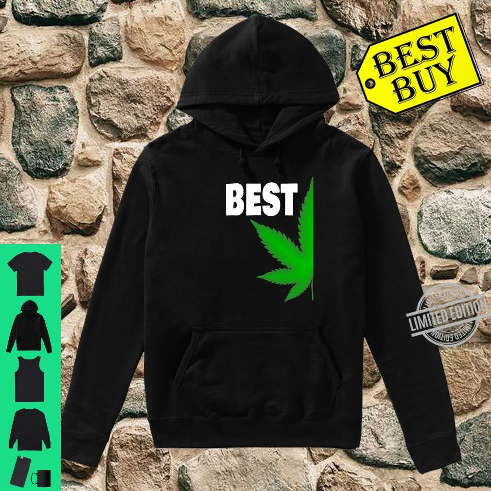 Couples Matching Best Buds BFF Marijuana Leaf Weed Shirt hoodie