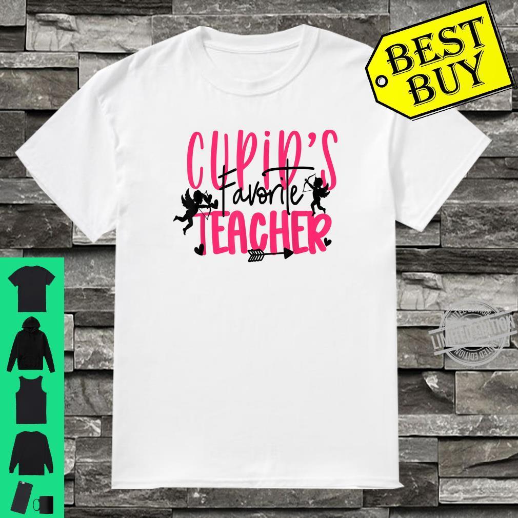 Cupids Favorite Teacher Valentines Day Shirt