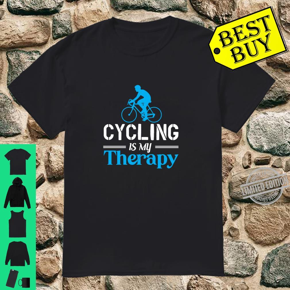 Cycling Is My Therapy Cycling Is My Passion Cycling Shirt