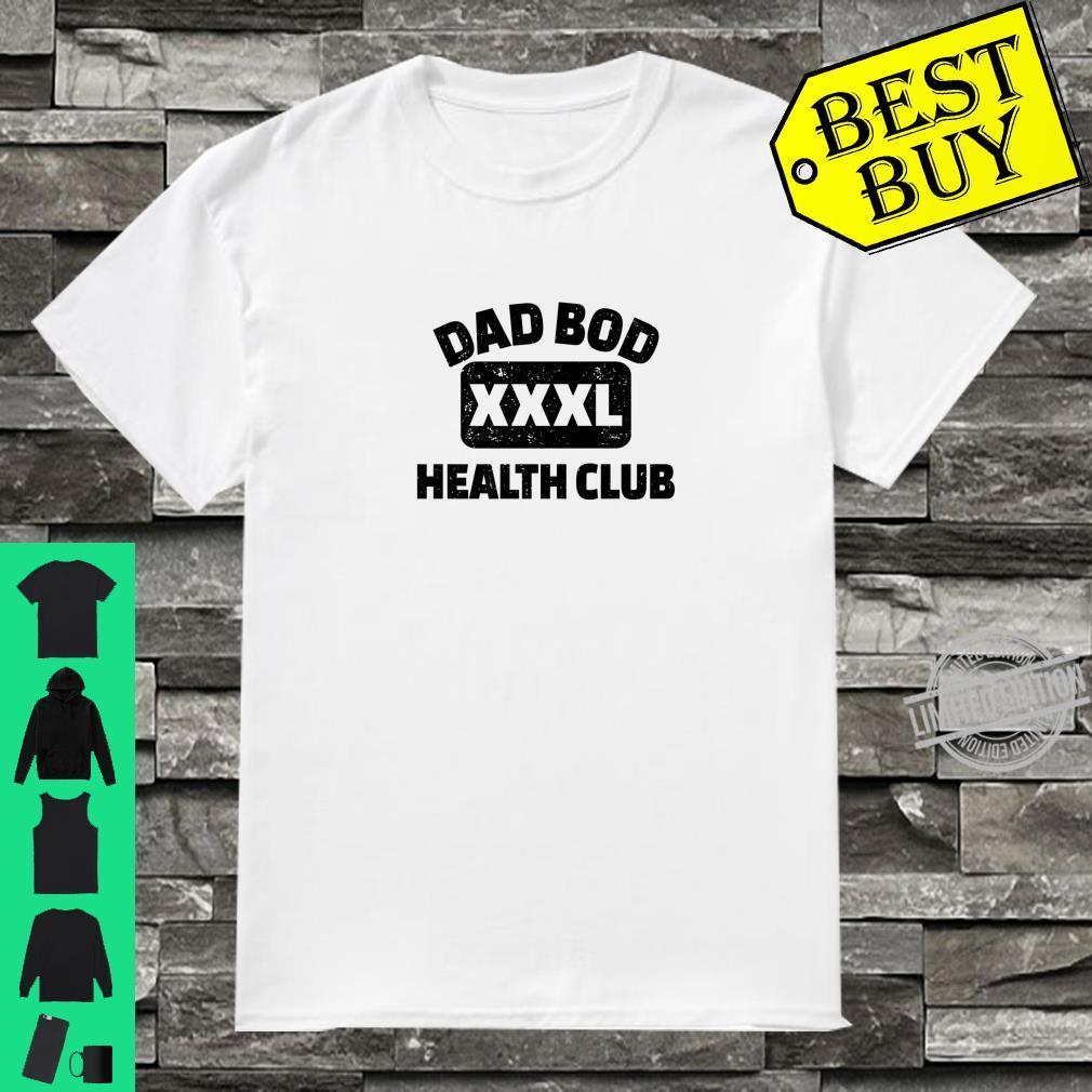 Dad Bod Health Club Distressed Design Shirt