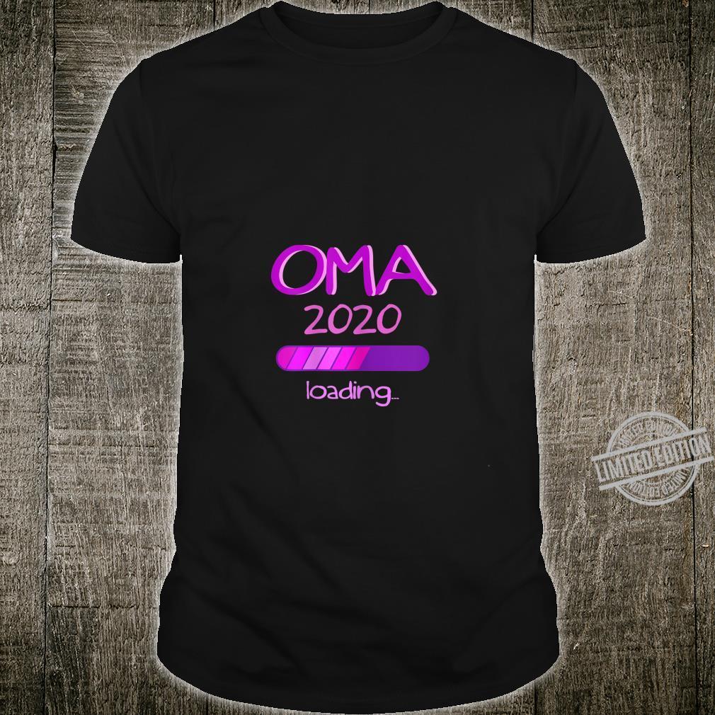 Damen Oma Großmutter Omi Baby Shower Nachwuchs Enkel Shirt