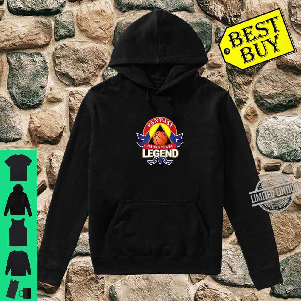 Fantasy Basketball Legend Crest Emblem Shirt hoodie