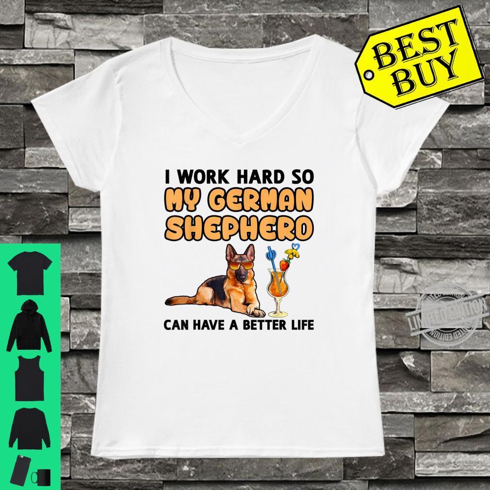 Funny German Shepherd Shirt German Shepherd Shirt ladies tee