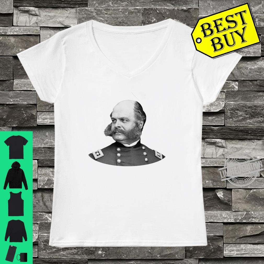 General Ambrose Burnside Civil War Shirt ladies tee