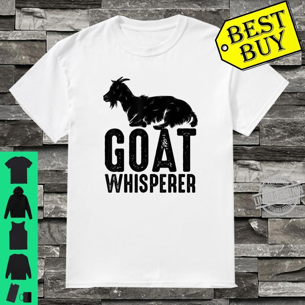 Goat Whisperer Cute Domestic Kid Vets Farmer Shirt