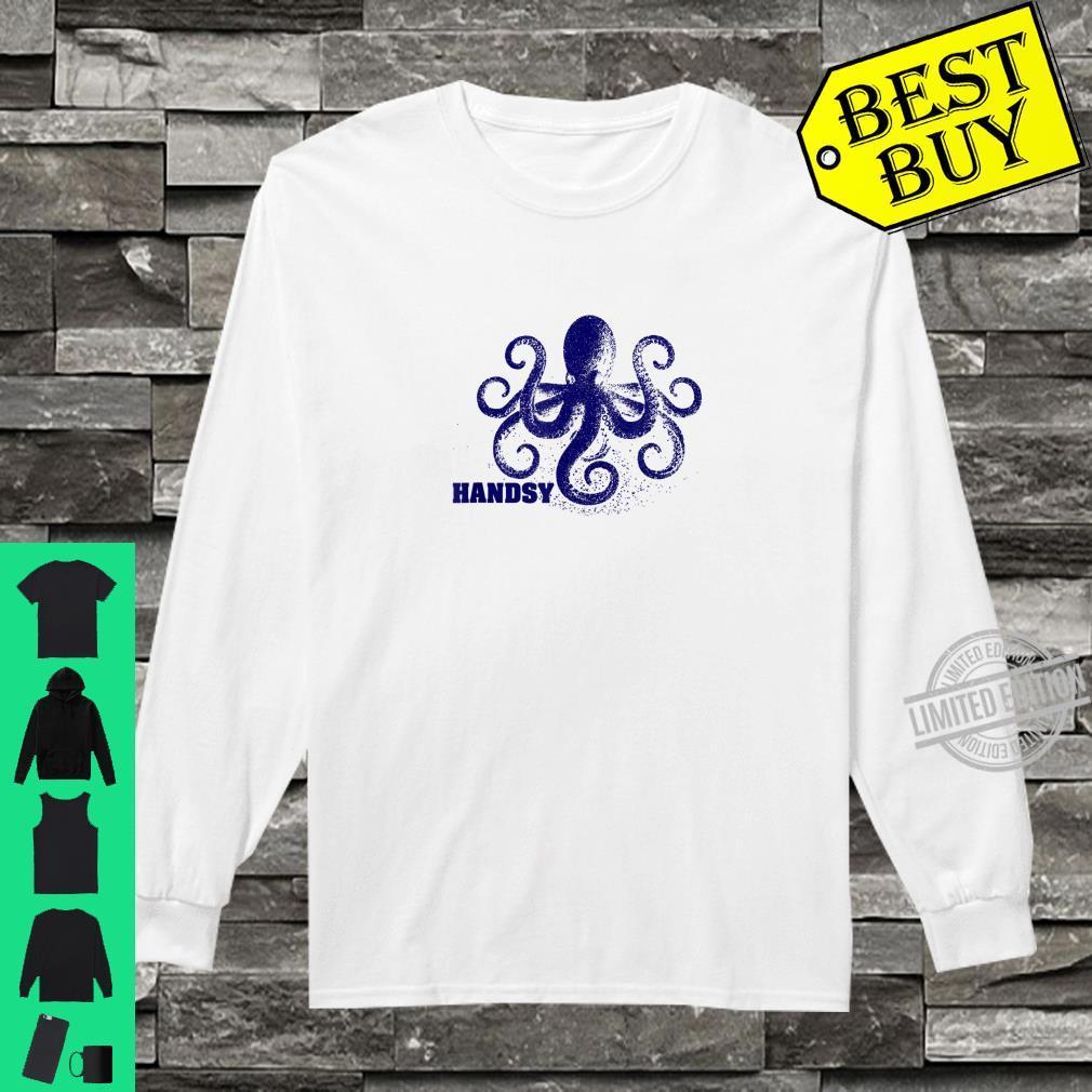 Handsy Octopus Shirt long sleeved