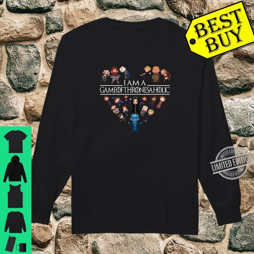I am a game of Thrones aholic shirt long sleeved