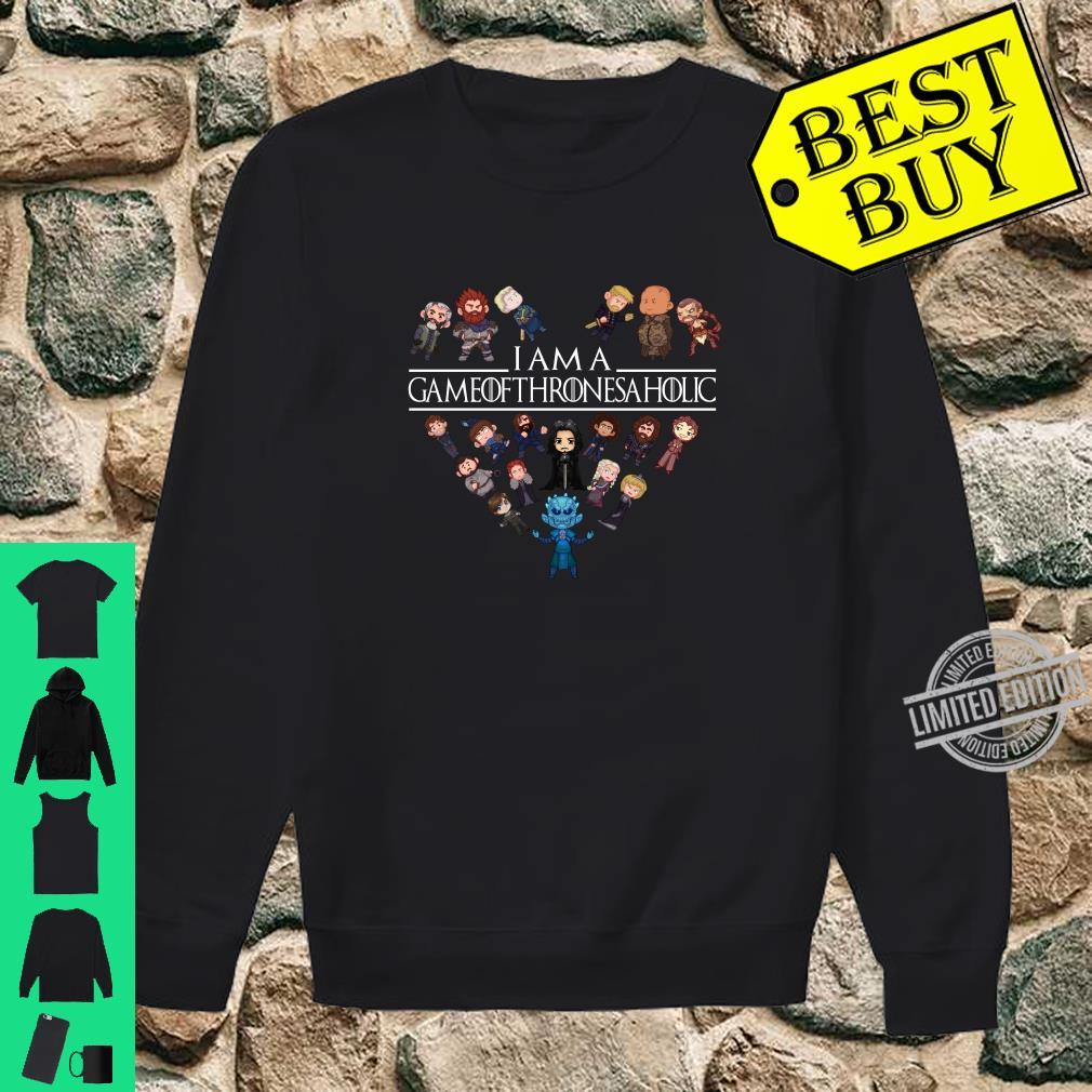 I am a game of Thrones aholic shirt sweater