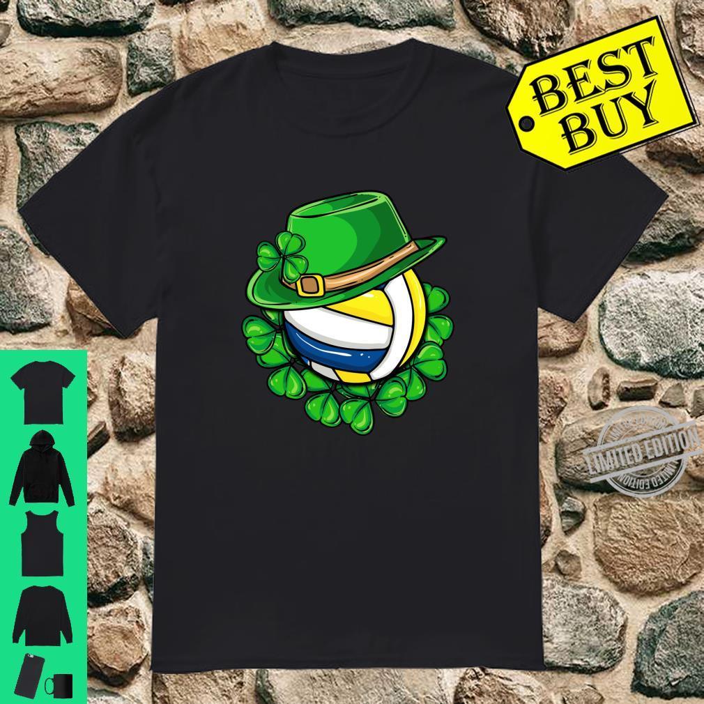 Irish Volleyball Ireland St Patricks Day Player Team Coach Shirt
