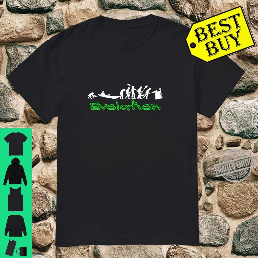 Kanu, Kajak, Kanadier und Paddeln by River Apparel Shirt
