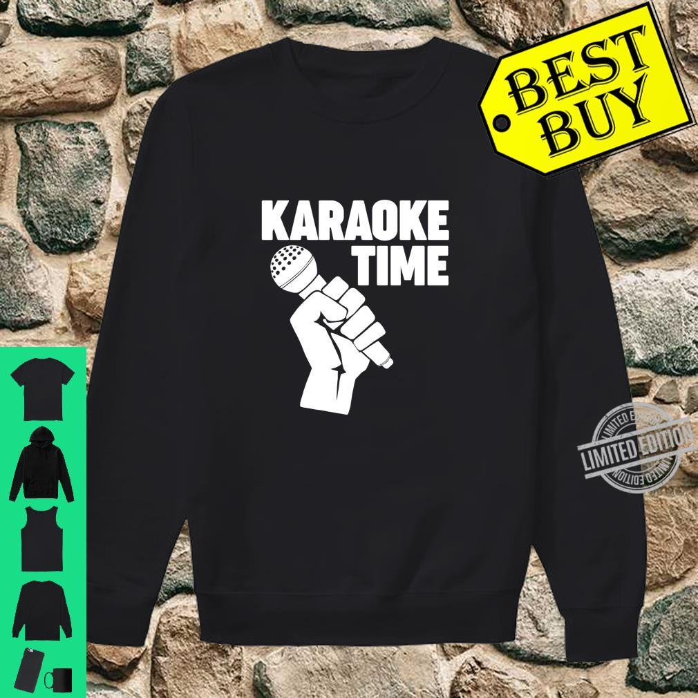 Karaoke Time Microphone microphone Karaoke Shirt sweater