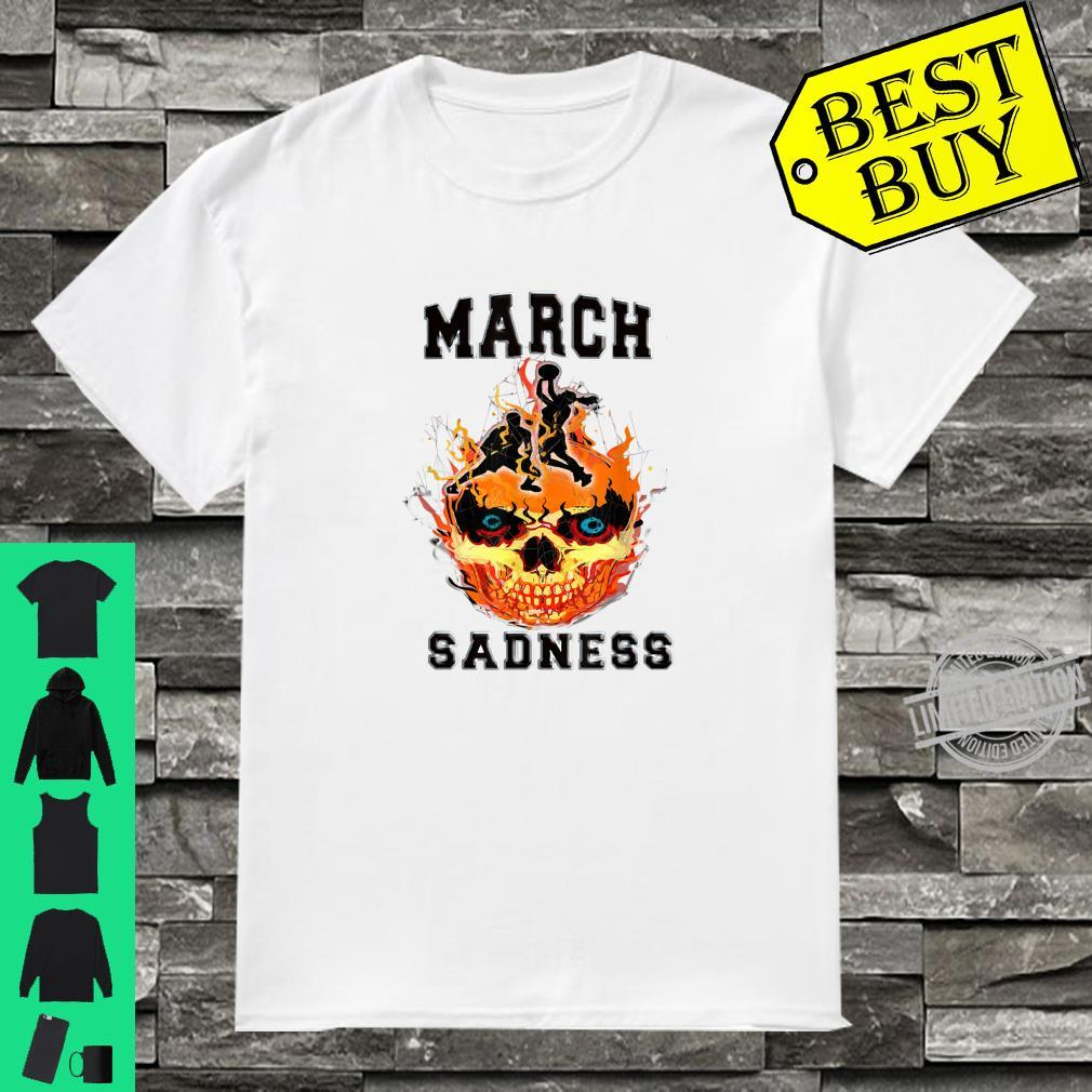 March Sadness Everythings Cancelled Parody Basketball Shirt