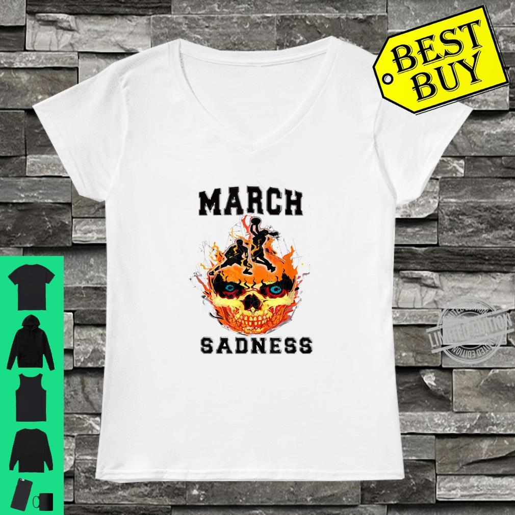 March Sadness Everythings Cancelled Parody Basketball Shirt ladies tee