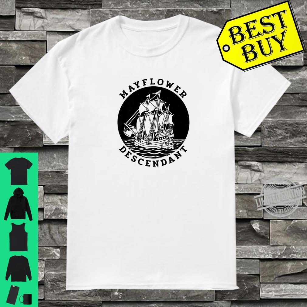 Mayflower Descendant Shirt