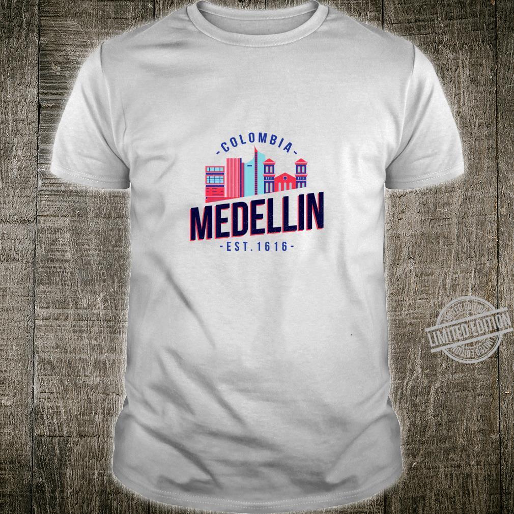 Medellin Skyline Est. 1616 Colombia Souvenir Shirt