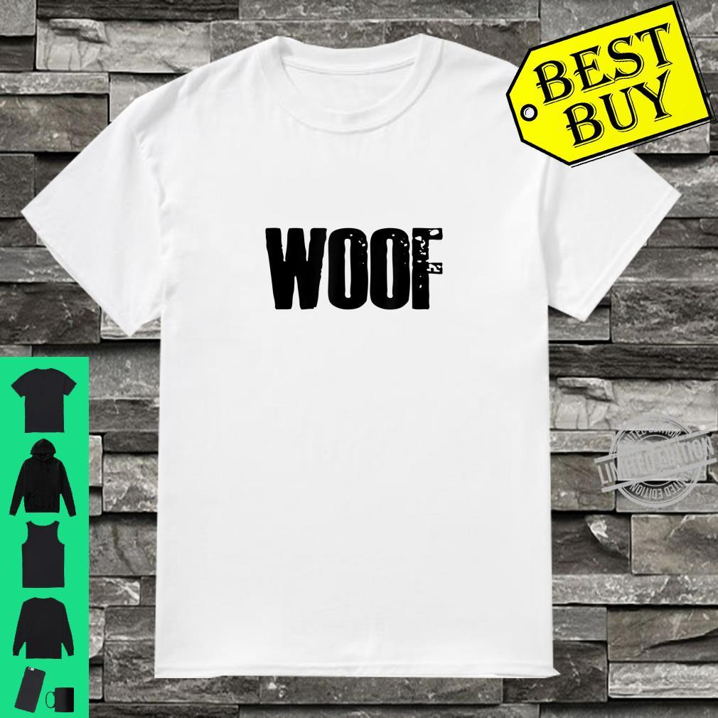 Mens Gay WOOF Puppy Play BDSM Kink Roleplay Fetish Human PUP Shirt