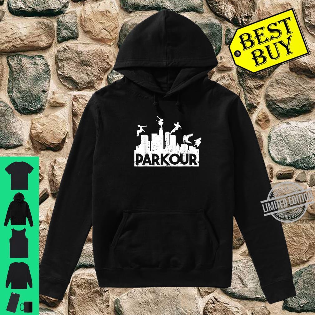 Parkour Freerunning Running Jumping Climbing Acrobatics Shirt hoodie