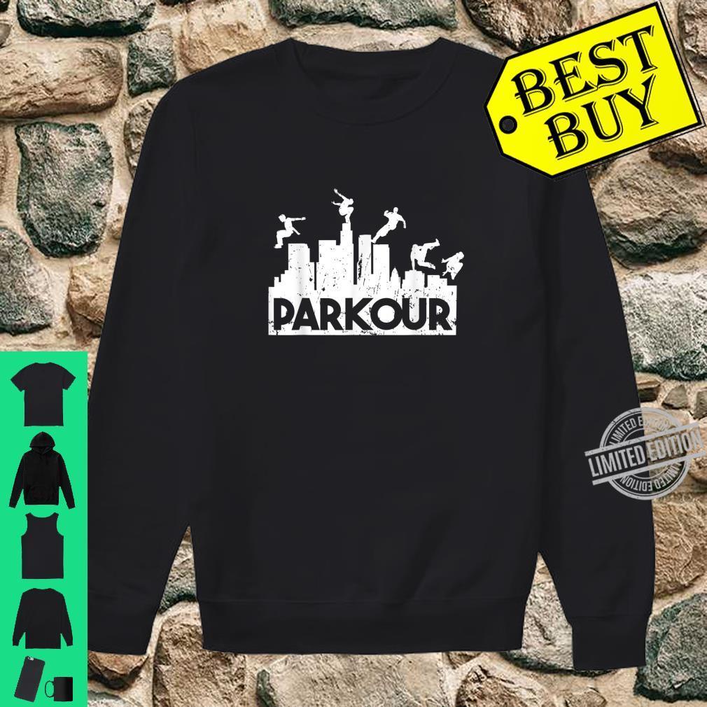 Parkour Freerunning Running Jumping Climbing Acrobatics Shirt sweater