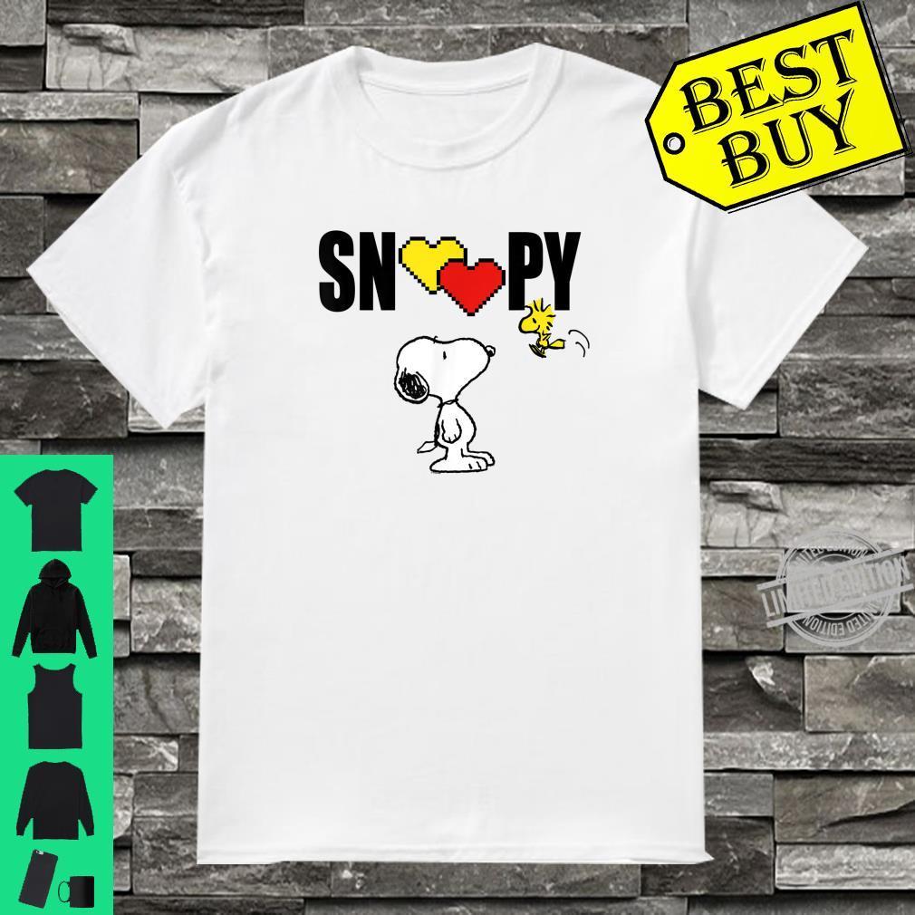 Peanuts Valentine Snoopy Love Shirt